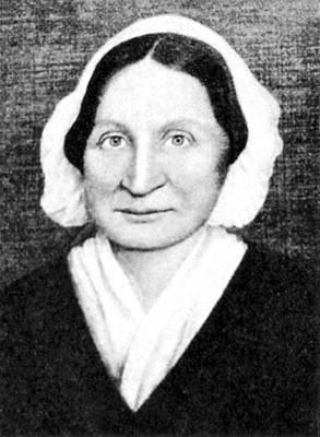 Mary Mason Lyon (1797-1849) Art Print by Granger