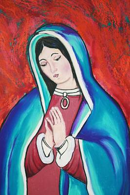 Painting - Mary by Melinda Etzold