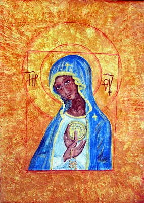 Painting - Mary Mother Of Jesus by Sarah Hornsby