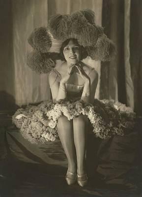 Mary Nash As Lotta Faust Art Print
