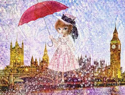 Painting - Mary Poppins by Mo T