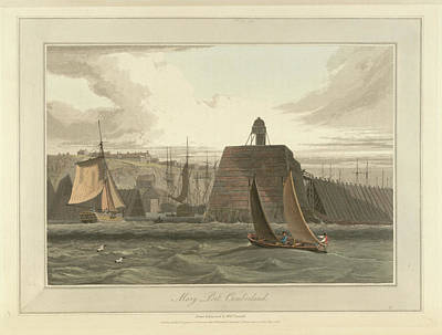 Cumberland Photograph - Mary Port In Cumberland by British Library