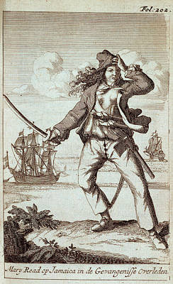 Mary Read Art Print by British Library