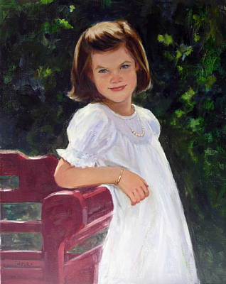 Painting - Mary S by Chris  Saper