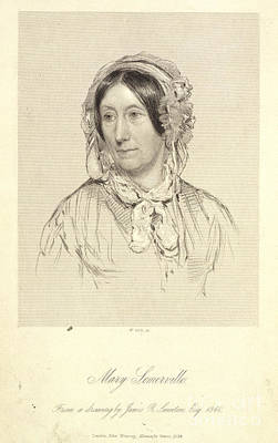Revising Photograph - Mary Sommerville by British Library