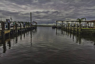 Mary Walker Marina - Stormy Skies Art Print