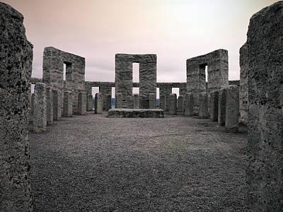 Stonehenge Photograph - Maryhill Stonehenge by Leland D Howard