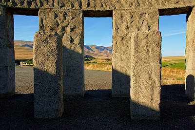 Photograph - Maryhill Stonehenge No.2 by Daniel Woodrum