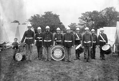 Marching Band Photograph - Maryland Camp Mckibbin by Granger