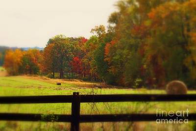 Maryland Countryside Art Print by Patti Whitten