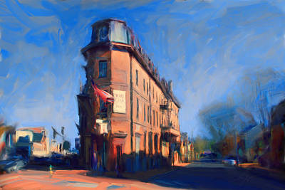 Maryland Inn - Annapolis Art Print
