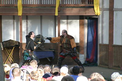 Festival Photograph - Maryland Renaissance Festival - Hack And Slash - 12126 by DC Photographer