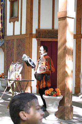 Maryland Renaissance Festival - Johnny Fox Sword Swallower - 121210 Art Print by DC Photographer
