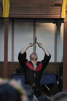 Actor Photograph - Maryland Renaissance Festival - Johnny Fox Sword Swallower - 1212124 by DC Photographer
