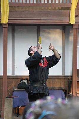 Old Photograph - Maryland Renaissance Festival - Johnny Fox Sword Swallower - 1212126 by DC Photographer