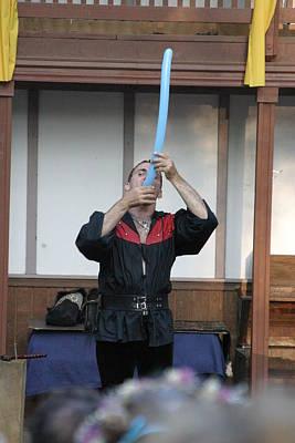 Fox Photograph - Maryland Renaissance Festival - Johnny Fox Sword Swallower - 1212130 by DC Photographer
