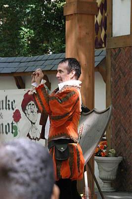 Fox Photograph - Maryland Renaissance Festival - Johnny Fox Sword Swallower - 121226 by DC Photographer