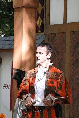 Maryland Renaissance Festival - Johnny Fox Sword Swallower - 121228 Art Print