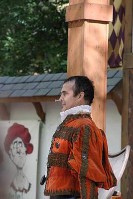 Fox Photograph - Maryland Renaissance Festival - Johnny Fox Sword Swallower - 121236 by DC Photographer