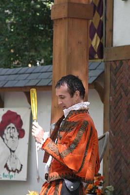 Sword Photograph - Maryland Renaissance Festival - Johnny Fox Sword Swallower - 121242 by DC Photographer