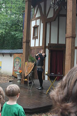 Maryland Renaissance Festival - Johnny Fox Sword Swallower - 121266 Art Print