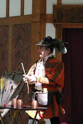 Maryland Photograph - Maryland Renaissance Festival - Johnny Fox Sword Swallower - 12129 by DC Photographer