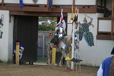 Maryland Renaissance Festival - Jousting And Sword Fighting - 121210 Art Print