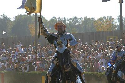 Maryland Renaissance Festival - Jousting And Sword Fighting - 1212143 Art Print