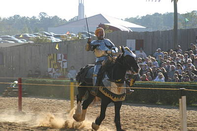 Festival Photograph - Maryland Renaissance Festival - Jousting And Sword Fighting - 1212155 by DC Photographer