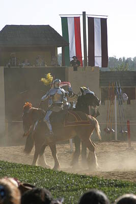 Artists Photograph - Maryland Renaissance Festival - Jousting And Sword Fighting - 1212178 by DC Photographer