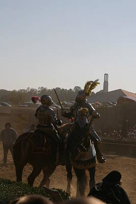 Fight Photograph - Maryland Renaissance Festival - Jousting And Sword Fighting - 1212183 by DC Photographer