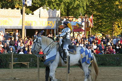 Maryland Photograph - Maryland Renaissance Festival - Jousting And Sword Fighting - 121231 by DC Photographer