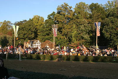 Fight Photograph - Maryland Renaissance Festival - Jousting And Sword Fighting - 12124 by DC Photographer
