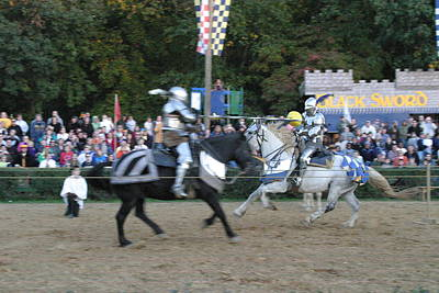 Armor Photograph - Maryland Renaissance Festival - Jousting And Sword Fighting - 121252 by DC Photographer