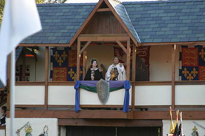 Maryland Renaissance Festival - Jousting And Sword Fighting - 12126 Art Print by DC Photographer