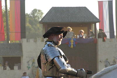 Maryland Renaissance Festival - Jousting And Sword Fighting - 121263 Art Print by DC Photographer