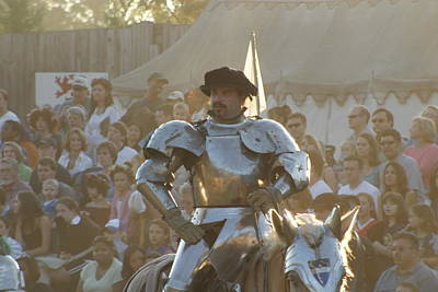 Maryland Renaissance Festival - Jousting And Sword Fighting - 121266 Art Print by DC Photographer