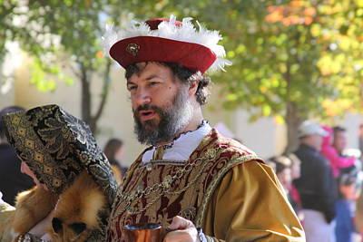 Maryland Photograph - Maryland Renaissance Festival - Kings Entrance - 12125 by DC Photographer