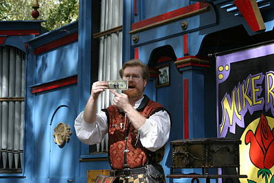 Maryland Renaissance Festival - Mike Rose - 12125 Print by DC Photographer