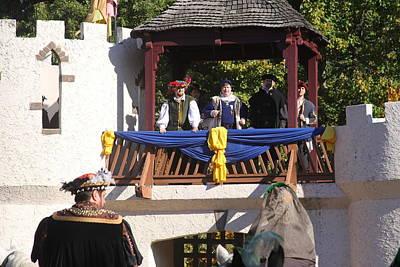 Maryland Renaissance Festival - Open Ceremony - 12127 Art Print