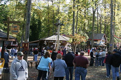 Maryland Renaissance Festival - People - 12121 Art Print by DC Photographer