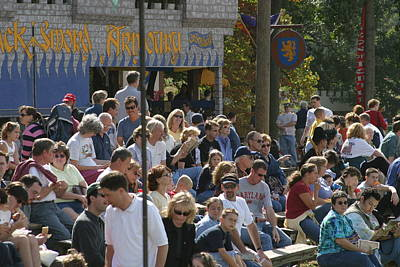 People Photograph - Maryland Renaissance Festival - People - 1212112 by DC Photographer