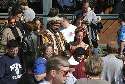 Maryland Renaissance Festival - People - 1212122 Art Print by DC Photographer