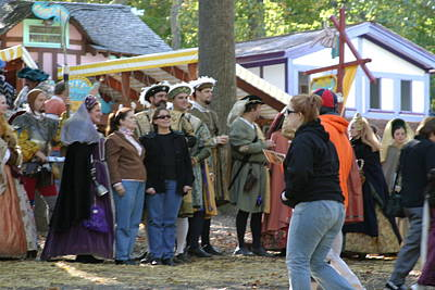 Aged Photograph - Maryland Renaissance Festival - People - 12123 by DC Photographer