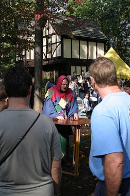 Maryland Renaissance Festival - People - 121252 Art Print by DC Photographer