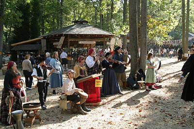 Maryland Renaissance Festival - People - 121264 Art Print