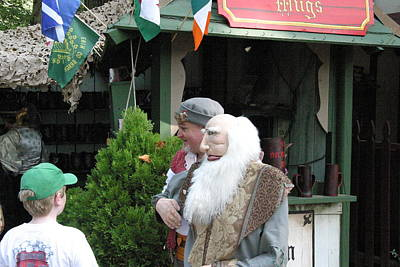 Aged Photograph - Maryland Renaissance Festival - People - 121267 by DC Photographer