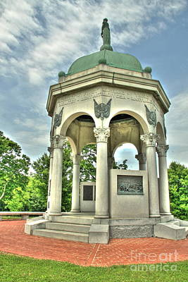 Photograph - Maryland State Monument by Jonathan Harper