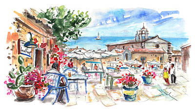 Painting - Marzamemi 02 by Miki De Goodaboom