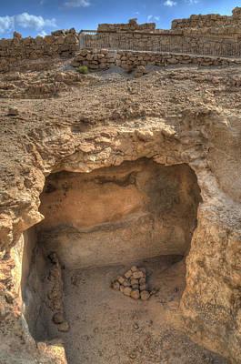 Photograph - Masada Storage by Don Wolf
